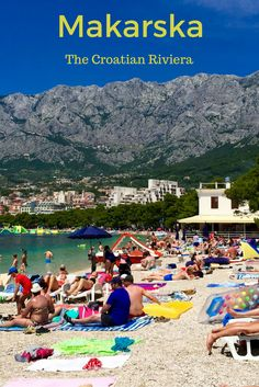 Makarska - Relaxing beaches, beautiful mountains and delicious seafood - The Makarskan Riviera is the perfect base to explore the Dalmatian Coast between Split and Dubrovnik.