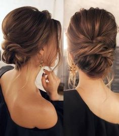 prom hair updo curly hair updos half up h. prom hair updo curly hair updos half up hairstyles updo hairstyles for weddings pin up hairstyles curly updos half updo updos for medium length hair prom hair simple updos cute Easy Updo Hairstyles, Wedding Hairstyles For Long Hair, Wedding Hair And Makeup, Pretty Hairstyles, Hair Makeup, Bridal Hairstyles, Low Bun Wedding Hair, Hair Updos For Medium Hair, Low Bridal Updo