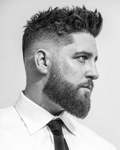 Small and short beard styles make men appearance more attractive, especially men with short hair. Here are the top 15 small and short beard styles that suit for every age. Beard Styles For Men, Hair And Beard Styles, Short Hair Styles, Men Hair Styles, Medium Beard Styles, Faded Beard Styles, Mens Hairstyles With Beard, Haircuts For Men, Mens Short Messy Hairstyles