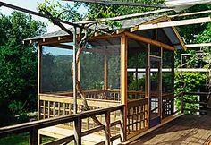 outdoor screened room