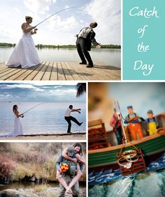 Modern Country Designs: Fishin Country: Fishing Theme Wedding