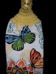Hey, I found this really awesome Etsy listing at https://www.etsy.com/listing/483486605/butterfly-hanging-dish-towel