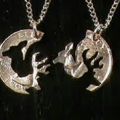 ***Closet cleaning Sale** buck and doe necklace Country love buck and doe necklace Jewelry Necklaces