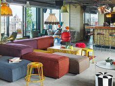 25hours Hotel Spezialangebot für WienerInnen - The Chill Report Das Hotel, Rooftop Bar, Outdoor Furniture Sets, Outdoor Decor, Restaurant Bar, Vienna, Glamping, Sweet Home, Lounge