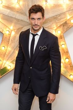 David Gandy Launches Blue Steel Appeal - Red Nose Day Fashion Ambassador (Vogue.com UK)