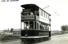 Binley Road Tram Binley Road Coventry Suburb Stoke Photograph history
