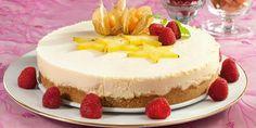 GLUTENFRI OSTEKAKE Norwegian Food, Pavlova, Muffins, Cheesecake, Clean Eating, Baking, Desserts, Tailgate Desserts, Muffin