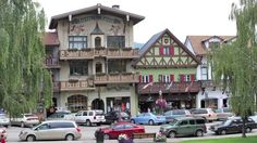 Leavenworth is a city in Chelan County, Washington.The entire town center is modeled on a Bavarian village.