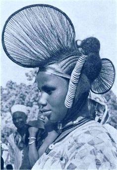 Attaché de foulard I Inspiration Peulh