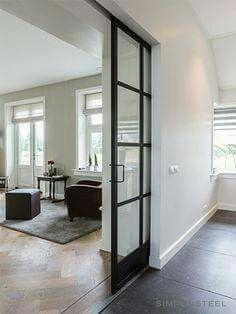 Door between living/dining room.