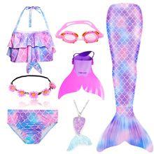 Girls Mermaid Tail, Mermaid Swim Tail, Mermaid Tails For Kids, Mermaid Swimsuit, Mermaid Swimming, Mermaid Outfit, Cute Mermaid, Girls Swimming, Girls Mermaid Costume