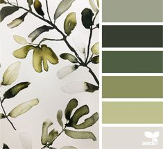 today's inspiration image for { color create } is by . thank you, Karina, for sharing your incredible inspiration in… Green Colour Palette, Color Palate, Design Seeds, Colour Schemes, Color Combos, Colours That Go Together, Sage Color, Dose Of Colors, Colour Board