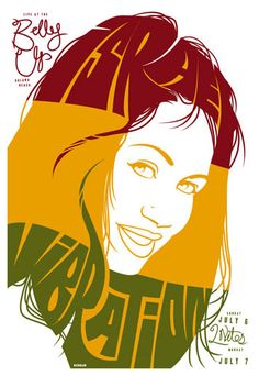By Scrojo Israel Vibration Poster