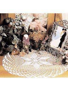 Crochet Doilies - Vintage Doily Crochet Patterns - Web of Lace Doily