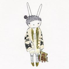 That's one cute outfit on Fifi Lapin!  I would definitely wear this.