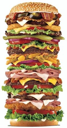Leckeres Essen Riesenburger