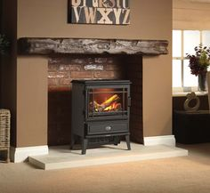 Give Your Living Room The Wow Factor With This Lovely Grand Cr Me Opti Myst Stove Living Room