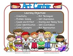 Preschool Learning Center Objectives | PRINTABLE CENTER SIGNS WITH ...