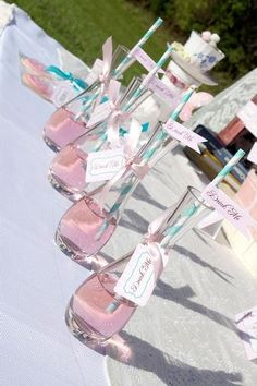 "= ""Drink Me""-Alice in Wonderland theme baby shower 