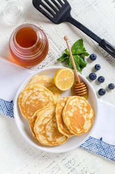 Easy Pancakes from Scratch