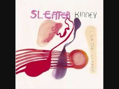 Sleater Kinney - One Beat :: Before Carrie Brownstein was in a silly show about that weird town, she was caterwauling for this kickass band! Carrie Brownstein, Lp Vinyl, Vinyl Records, Vinyl Cover, Corin Tucker, Combat Rock, Funeral Songs, Blues, Fine Motor