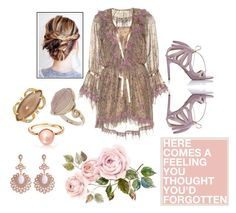 """Nude vs. boho"" by mediha-delic ❤ liked on Polyvore featuring Etro, Chelsea Paris, Henri Bendel and Topshop"
