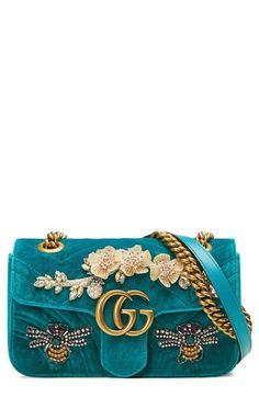 Shop a great selection of Gucci Mini GG Marmont Matelasse Velvet Shoulder Bag. Find new offer and Similar products for Gucci Mini GG Marmont Matelasse Velvet Shoulder Bag. Gucci Handbags, Purses And Handbags, Chain Shoulder Bag, Luxury Bags, Online Bags, Beautiful Bags, My Bags, Handbag Accessories, Fashion Bags