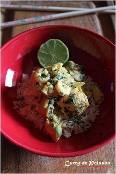Curry de poisson Thaï