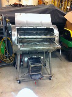 Stainless Steel Drum Keg Smoker