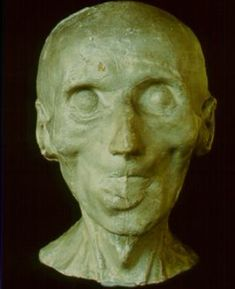 Death mask of Immanuel Kant