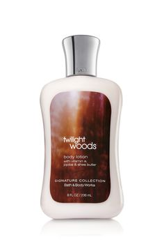 Twilight Woods™ Bath & Body Works. Normally I like the body CREAM better than the lotion, but for some reason I like this one better than the cream. I think it smells a bit prettier