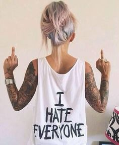 tattoo blog x i hate everyone