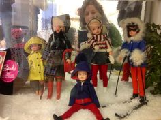 Through the glass with Sindy and Patch 1965 +
