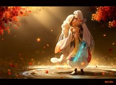 Inuyasha- Sesshomaru and Rin #Anime