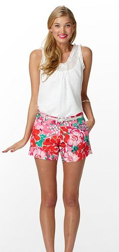break out the Lilly shorts!