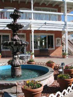 Old Town Albuquerque - Plaza fountain. Kinda like our Lobby fountain... www.hotelandaluz.com