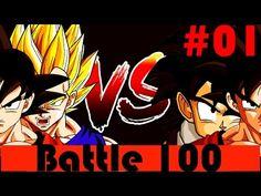 Dragon Ball (Dbz) Battle 100 #01 Jogando no Android/Tablet