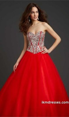 http://www.ikmdresses.com/2014-Quinceanera-Dresses-New-Red-A-Line-Sweetheart-Floor-Length-Tulle-p84705