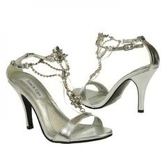 Silver Princess Touch Ups Evening Shoes
