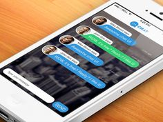 Messenger Chat Screen PSD