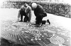 Cochno Stone carving