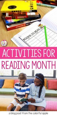 March is Reading Month!  Here is a whole list of ideas and activities to celebrate reading month in your elementary classroom.  These are fun activities to get your students engaged in reading and in books.  The ideas can be used for Read Across America Day, Reading Month or any time of the year!  The list includes fun ways to get your classroom, school and even families and the community involved in reading! (preschool kindergarten first grade second grade third grade fourth grade fifth grade)