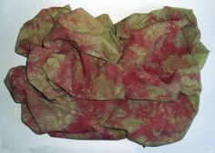 Heavy Cotton Fabric Dyed with Procion MX Dyes