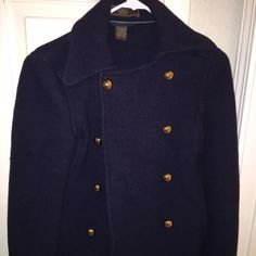 coach wool pea coat mint condition was only wore 1x. pet smoke free. very flattering and adorable fits like a small-medium Jackets & Coats Pea Coats