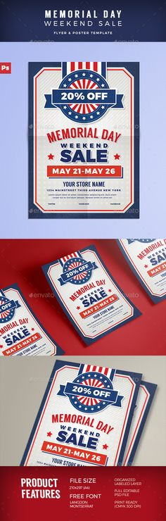 Labor Day Flyer Template PSD Flyer Templates Pinterest Flyer - labour day flyer template