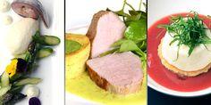 Zum Nachkochen: Makrele mit Spargelmousse, Kalbs-Semerrolle und Sauerampfer