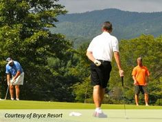 There is nothing quite as beautiful as teeing off in the Shenandoah Valley. Check out information about Bryce Resort's Championship Golf Course, here.