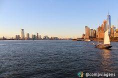 Rio Hudson, NY.