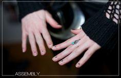 The New Nail Art | Minimalist Nails | Assembly | FALL 2014 | www.WeAreTheSomethings.com