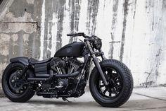 Cafe Racer Harley Davidson Matte Black Sportster Cafe